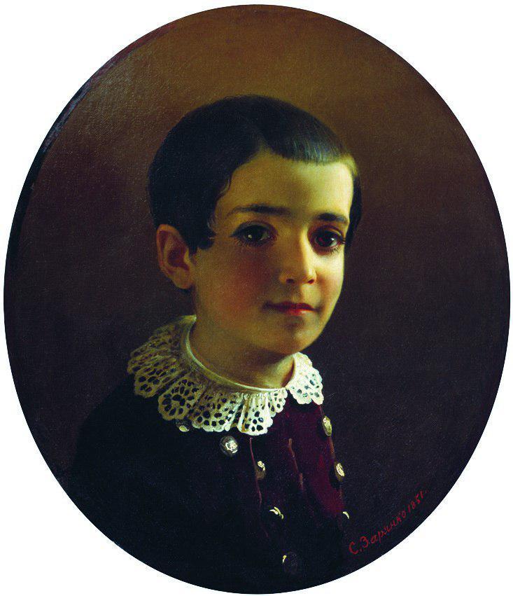 С.К. Зарянко. Портрет Вани (Ивана Христофоровича Лазарева), 1851