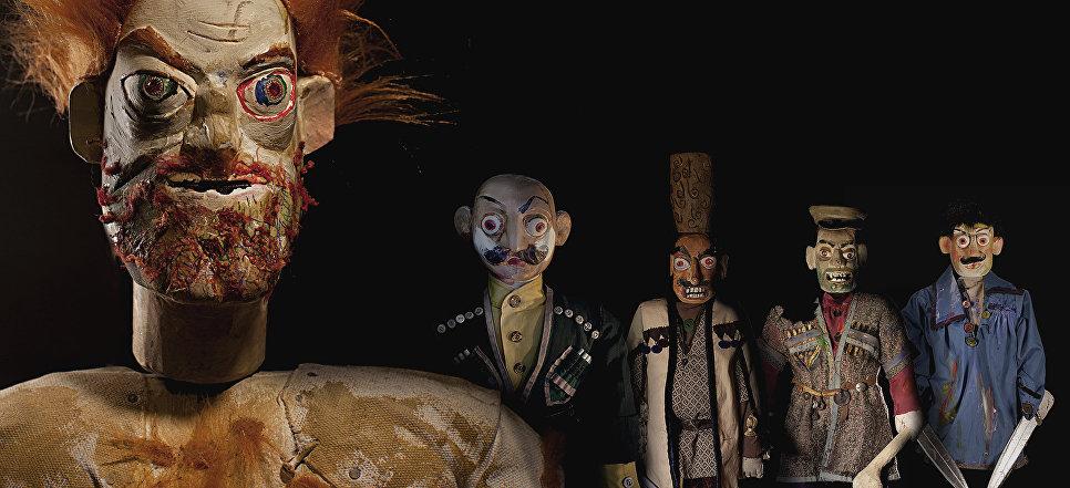 Прекрасные и инфернальные куклы Резо Габриадзе