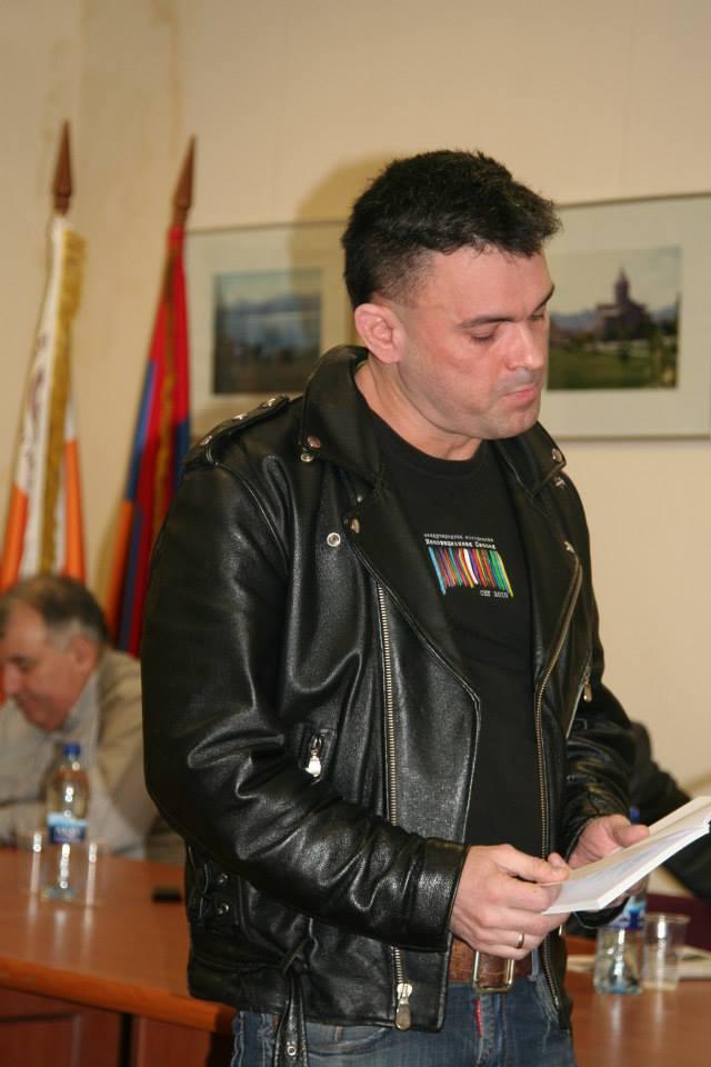 Поэт Сергей Арутюнов