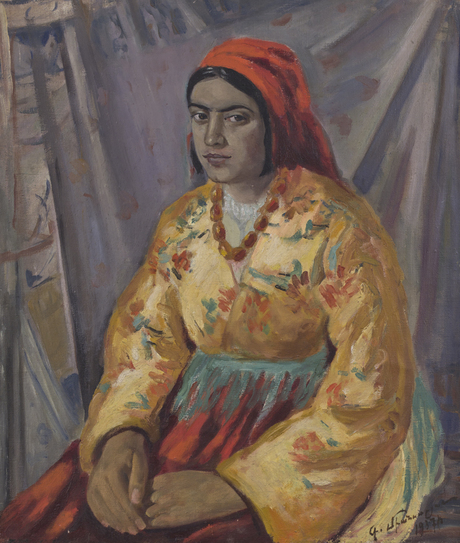 "Миансарян Георг, ""Курдянка"", 1937 Национальная галерея Армении"