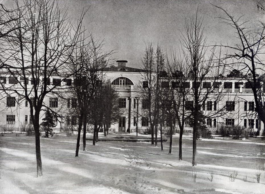 Кратово. Общий вид санатория для туберкулезных, фотография 1948 года (архитектор А.Таманян)