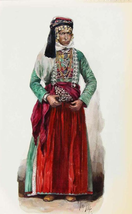 Вот так выглядели курдянки во времена пушкинскогопутешествия