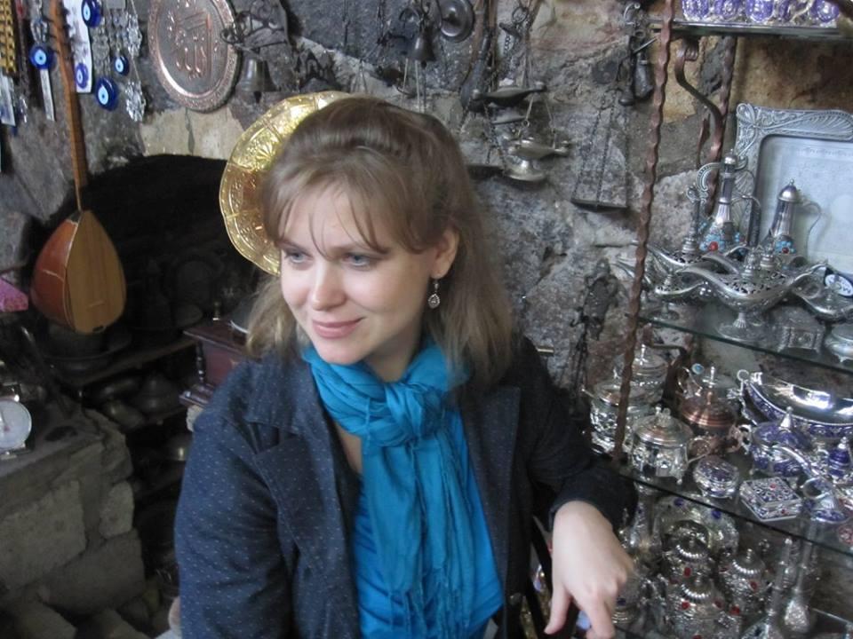 Автор в Бей-Пазари (Турция, ноябрь 2013)