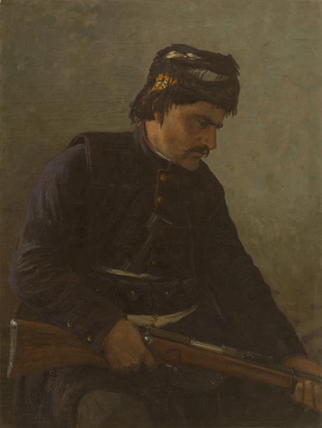 """Курд"", Фанос Терлемезян, Национальная галерея Армении"
