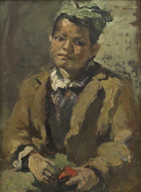 """""""Курдский мальчик"""", Эдувард Исабекян,Национальная галерея Армении"""