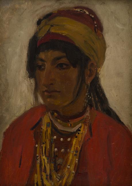 """Курдянка из Сардар-Булаха"", Амаяк Акопян, 1894, Национальная галерея Армении"