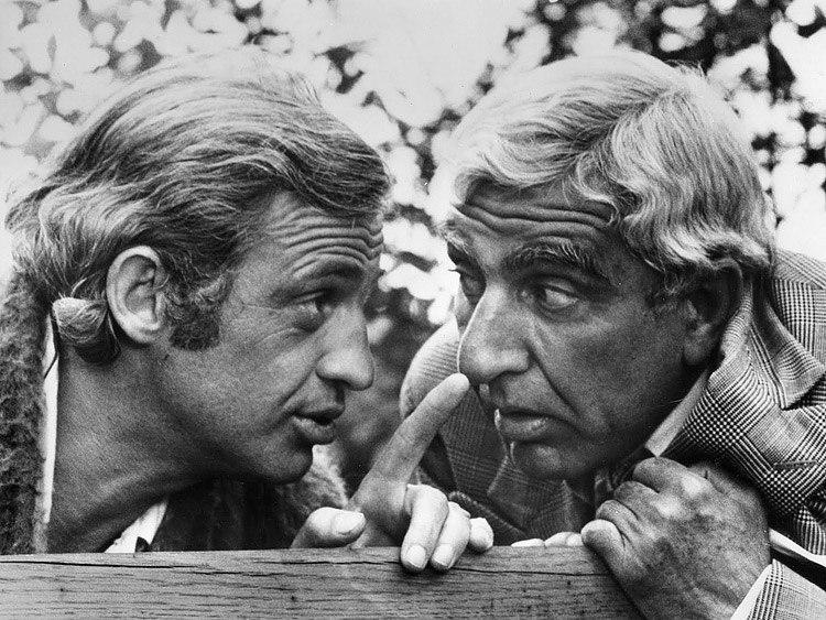 Бельмондо и Жерар — хорошие друзья вот уже на протяжении более 60-ти лет, а познакомились они в боксерском клубе, где тренировались