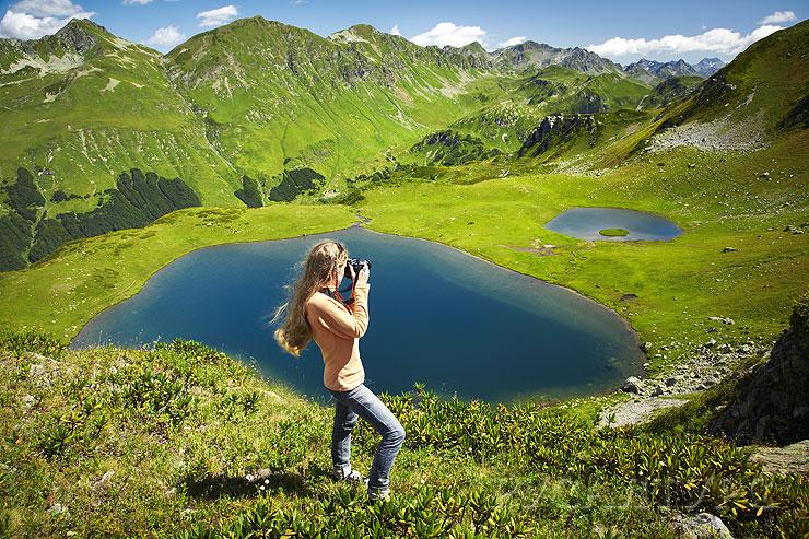 Абхазия. Озеро Мзым. Долина семи озер. фото с ресурса www.abkhazia.ru