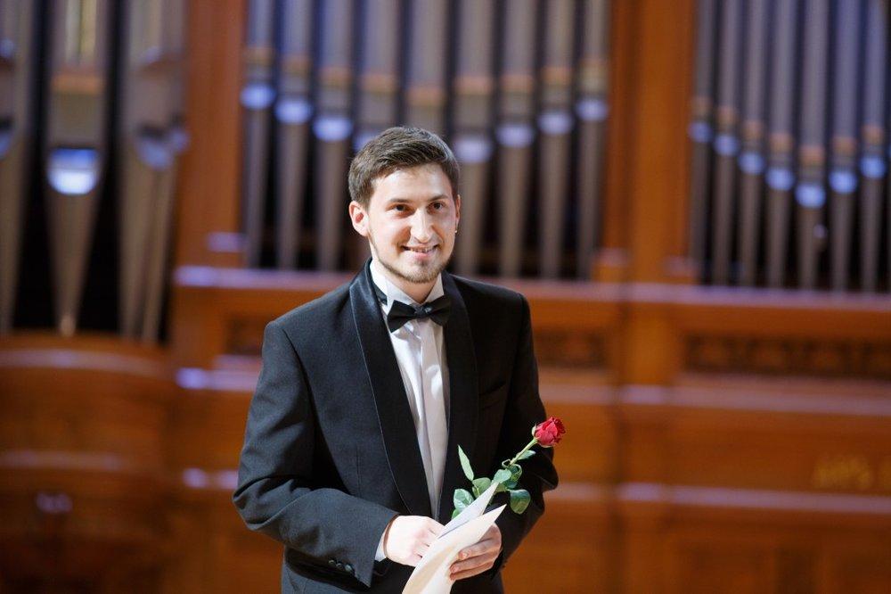 Андрей Чолокян - I премия VII Международного конкурса Московской консерватории для исполнителей на духовых и ударных инструментах в 2015 году