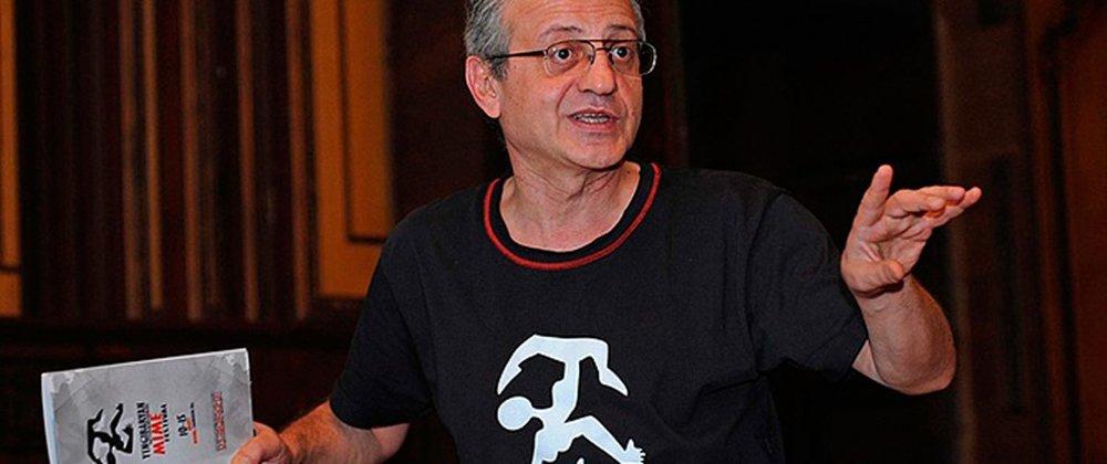 Директор фестиваля и художественный руководитель Государственного театра пантомимы Жирайр Дадасян