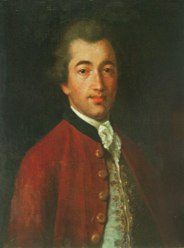 Иван Аргунов. Портрет М.Л. Лазарева, 1769