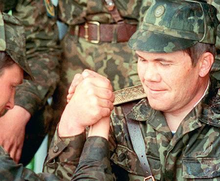 АлександрЛебедь, 1998 год.