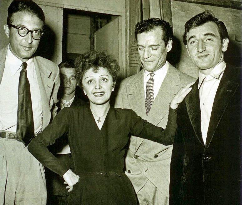 Рядом с Эдит Пиаф французский шансонье Шарль Азнавур продержалсядольше, чем любой другой мужчина на земле