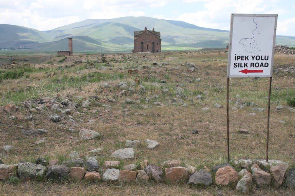 Здесь трагически пересеклись Великая Армения и Великий Шелковый путь. фото Сергея Новикова