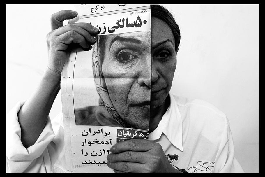 """""""Я стремлюсь найти невидимое в Иране и сделать его видимым для внешнего мира."""""""