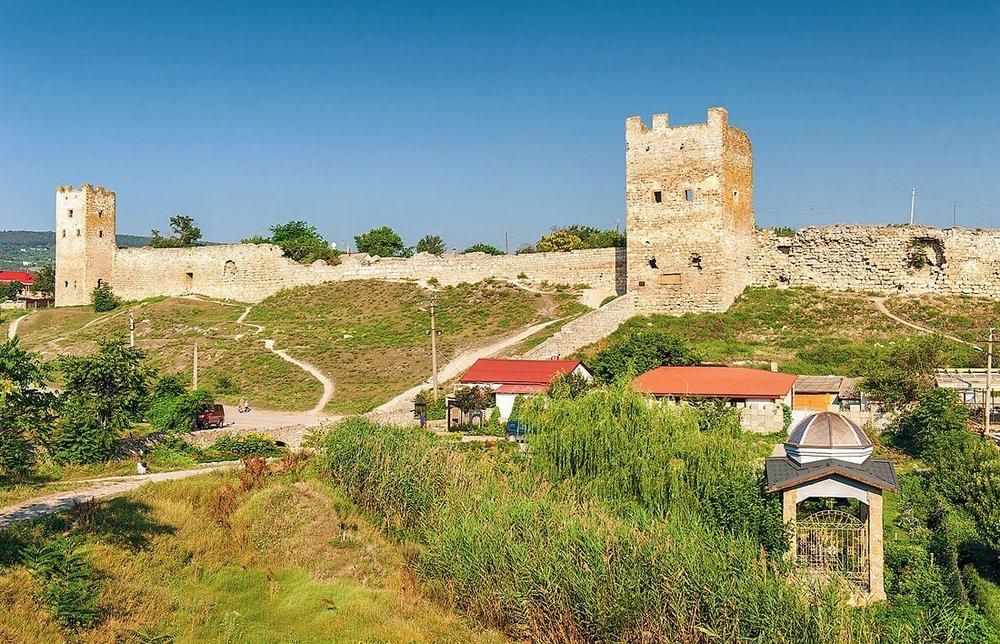 Феодосийская крепость (источник www.karta-kryma.com)