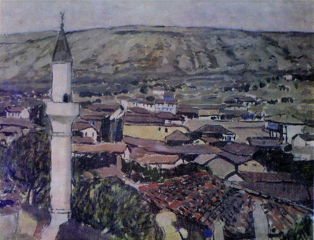 Михаил Латри. Бахчисарай, 1890-е