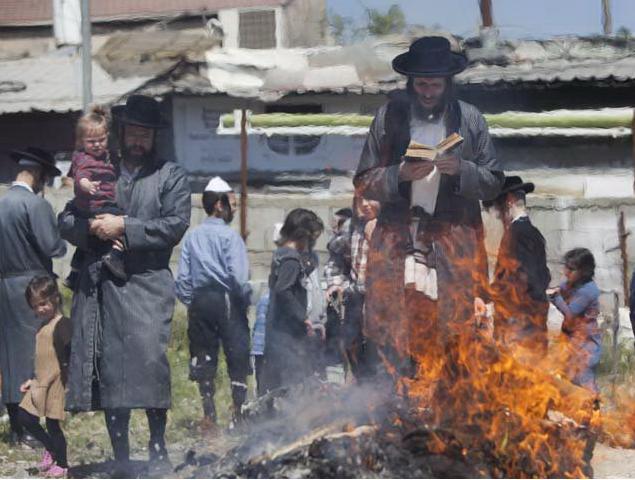 14-21 апреля (14-21 нисана) в этом году евреи отмечают праздник Песах. Фото Flash90