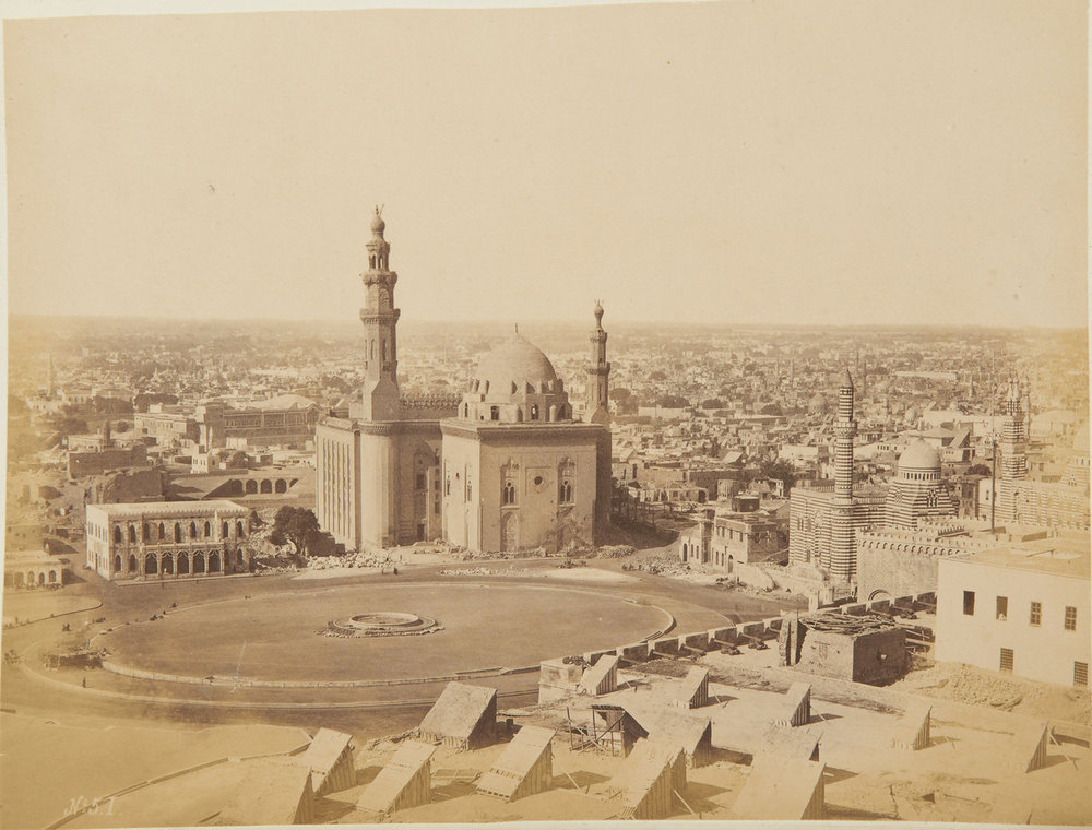 Каир. Вид из Цитадели на площадь Румела.jpg
