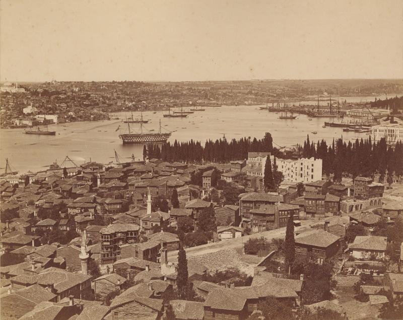 Панорама Константинополя» 1870-e собрание Павла и Анны Хорошиловых.jpg