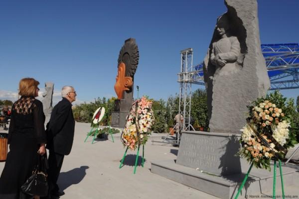 ВАкналичеоткрыт мемориальный комплекс армяно-езидскойдружбы фотоBlogNews.am Нарека Алексаняна