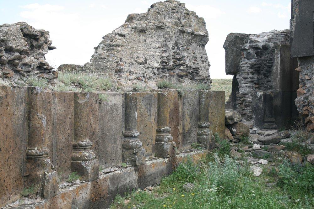 Ани. Руины собора царя Гагика I (фрагмент). Фото Сергея Новикова