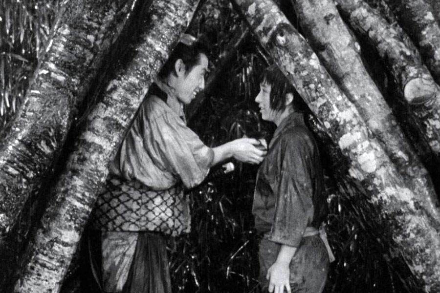 "Кадр из фильма Акиро Куросавы ""Семь самураев"""