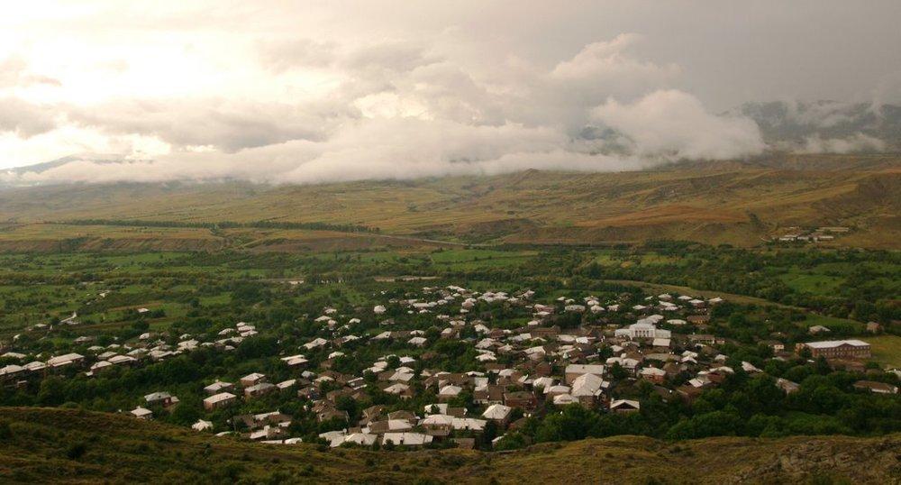 Село Схвилиси, где родилась Валентина Караханян