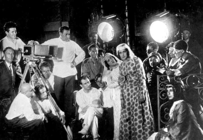 Съемки фильма «Намус» (1925 год)