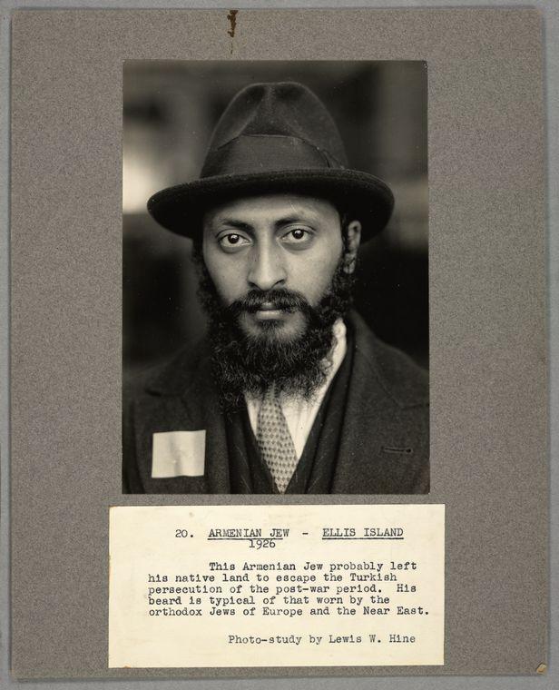 Армянский еврей.Ellis Island, 1926 фото с сайта www. forum.artinvestment.ru