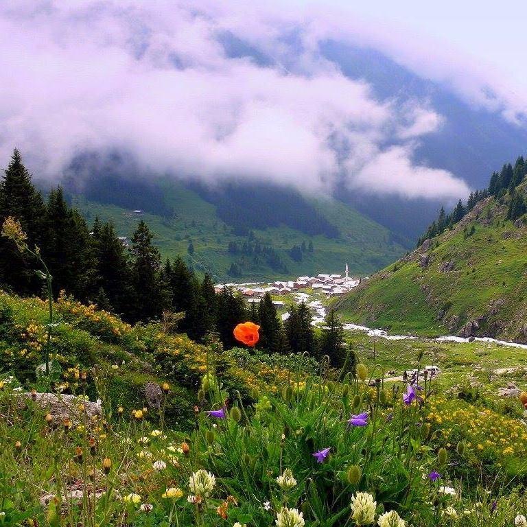 Прекрасная земля армянского Амшена - теперь часть Турции