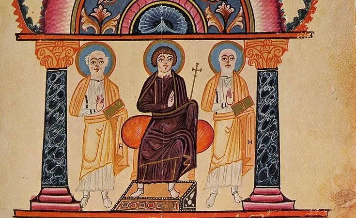 Изобразительное искусство в Средние века: армянская миниатюра - Самые ранние памятники армянской миниатюры относятся к VI–VII векам.