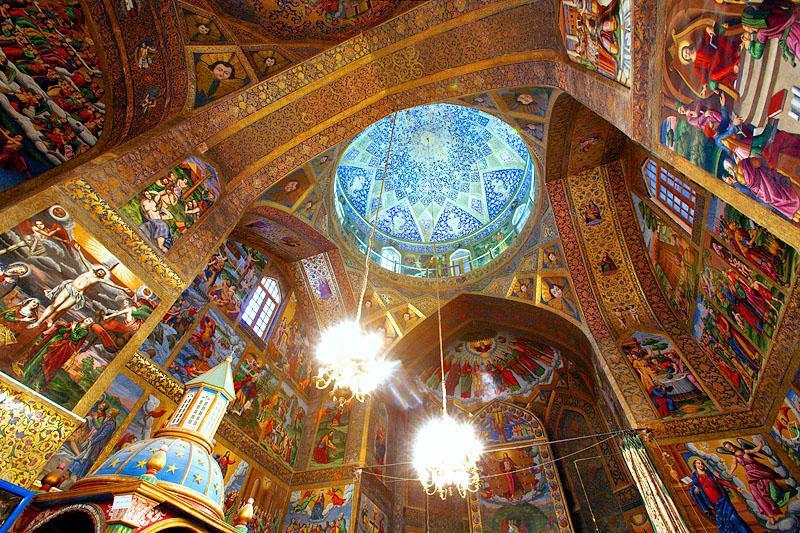 Новая Джуга (Джульфа) - армянский храм в Иране