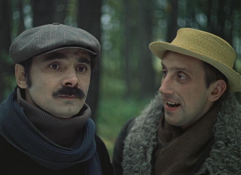 """В 1984 году Николай получает роль Жоры в фильме """"Мы из джаза"""".Стёпа Грушко играет на банджо и трубе, а Жора Рябов на скрипке и барабанах."""