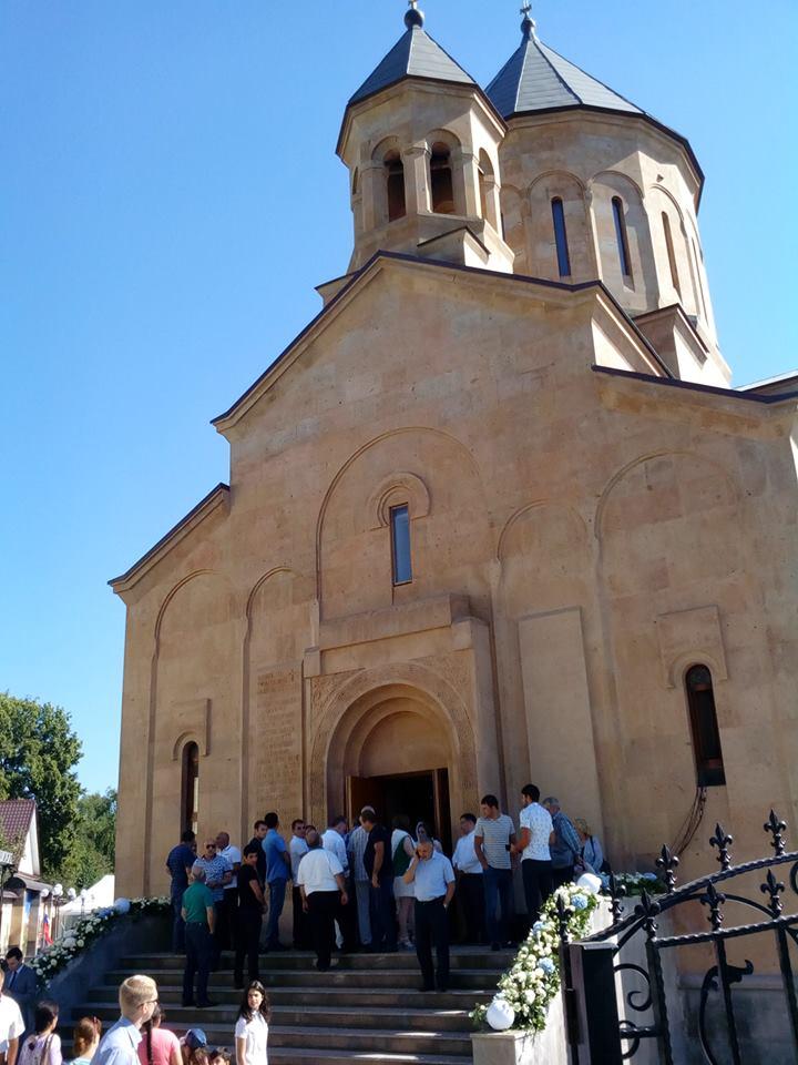 Армянская церковь во Владимире была открыта 13 августа. Фото Инессы Тащян