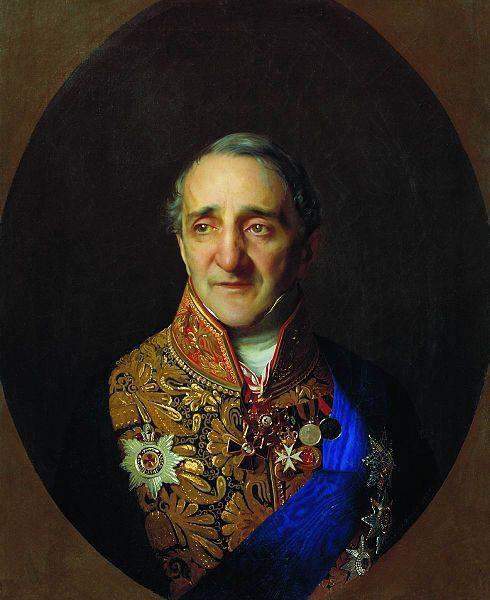 С.К. Зарянко. Портрет Христофора Екимовича Лазарева, 1851