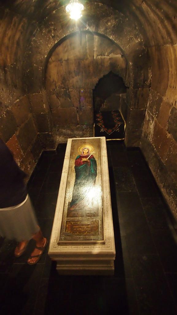 Место захоронения святой. Фото сайта hy.advisor.travel