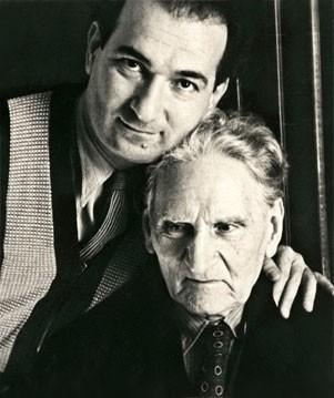 Мартирос Сарьян с сыном—композитором Лазарем Сарьяном, 1952