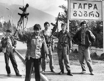 Армянский батальон Абхазии. фотоhayduk.livejournal.com