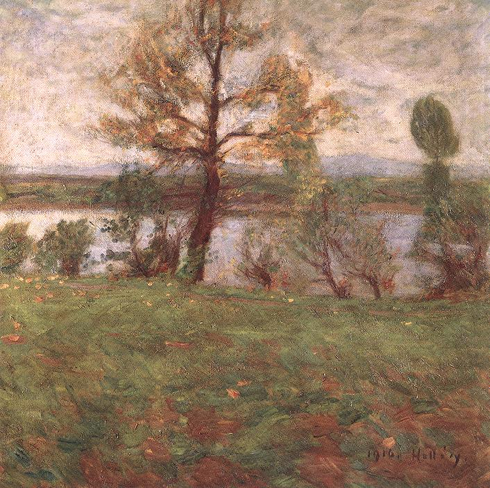 Hollósy,_Simon_-_Springtime_Mood_(Bank_of_the_River_Tisza,_1916).jpg