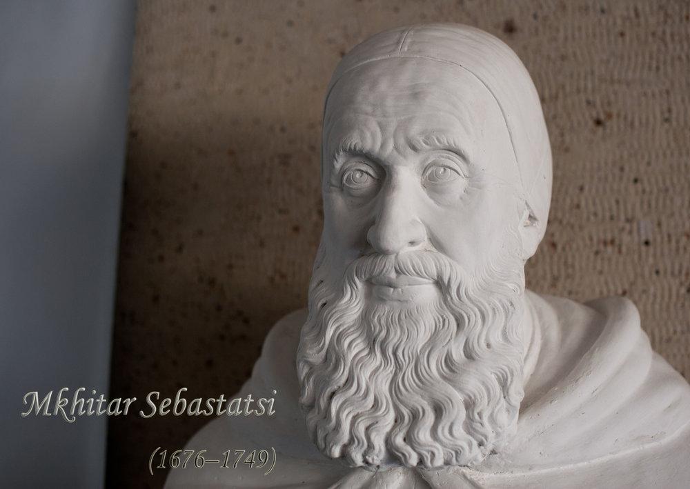 Став последователем Армянской апостольской церкви, он принял имя Мхитар (в переводе с армянского - «утешитель»).