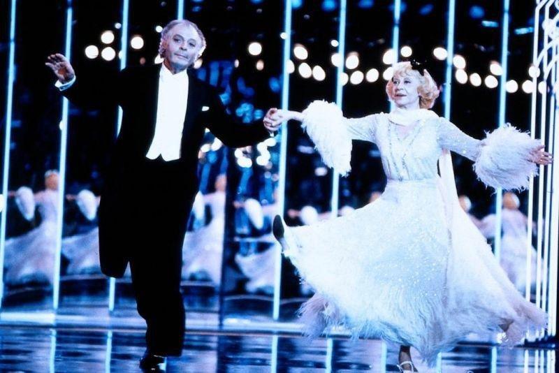 """Джинджер и Фред"" -кинофильмФедерико Феллини, снятый в1986 году."