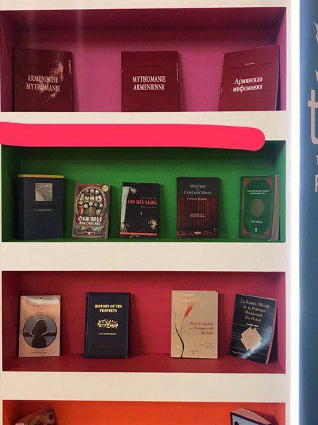На прошлой неделеААММ пресекла распространение шовинистических антиармянских материалов на 30 Московской международной книжной выставке-ярмарке