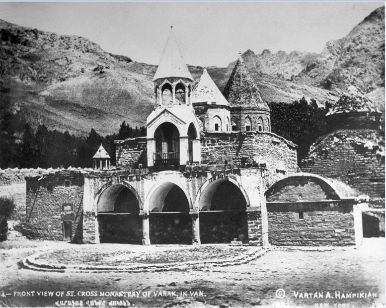 ФотоВарагского монастыря до 1915 года.