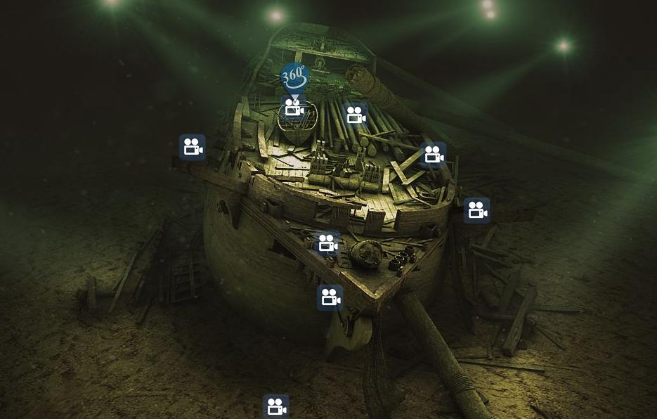 Все пользователи интернета получают возможность совершить первую виртуальную экскурсию на корабль и прикоснуться к истории XIX века. Фото с сайтаwww.lefortship.ru