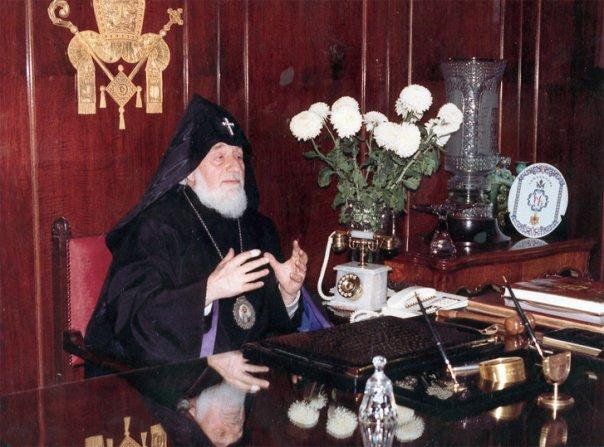 Католикос всех армян Вазген I. Фото ic.pics.livejournal.com