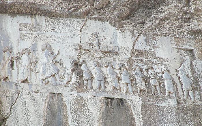 Внешняя политика. Господство Персии - Первым собственно армянским государственным образованием стал так называемый «Дом Тогармы» — бывшее царство Мелитены. После поражения Урарту оно существовало в виде формально зависимого от Мидии царства, включавшего значительные территории на западе Армянского нагорья.