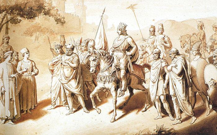 Великая и Малая Армения - В IV веке до н.э. ослабление государства Ахеменидов привело к тому, что подвластные персам области Южного Кавказа либо вышли из-под власти Персидского государства, либо сохранили чисто номинальную зависимость от него.