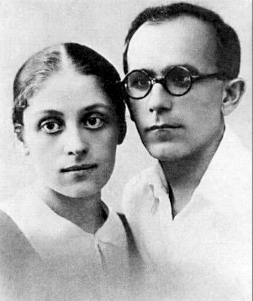 Геворг Григорян (Джотто) с женой, музой, художницей Дианой Уклеба, уроженкой Кутаиси.