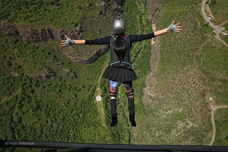 Wings of Tatev - фестиваль в Армении. Фото Айка Мелконяна